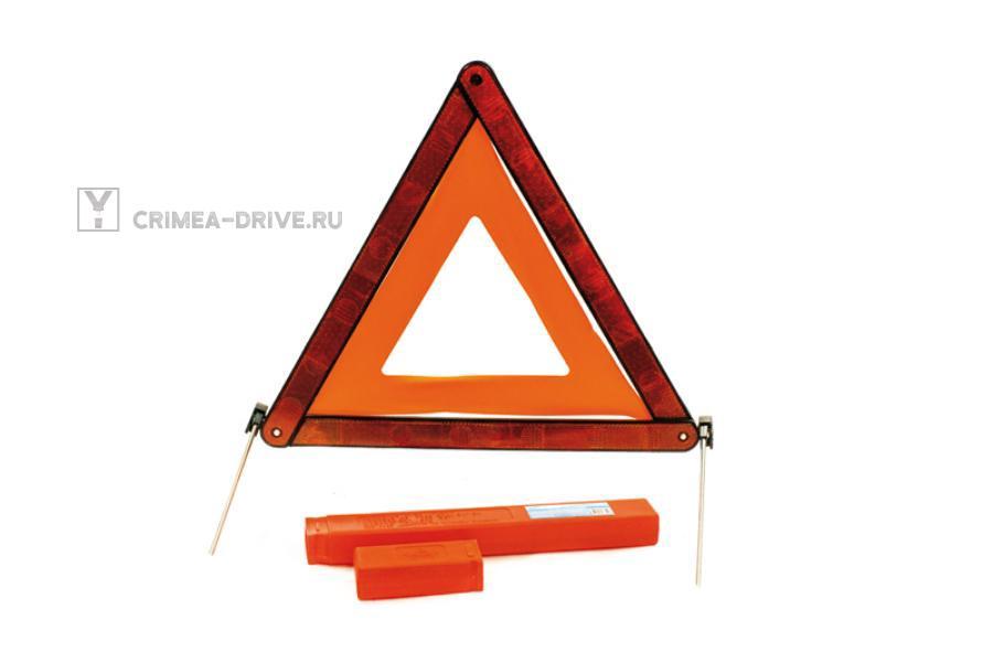 Знак аварийной остановки в кейсе на спицах (E4)