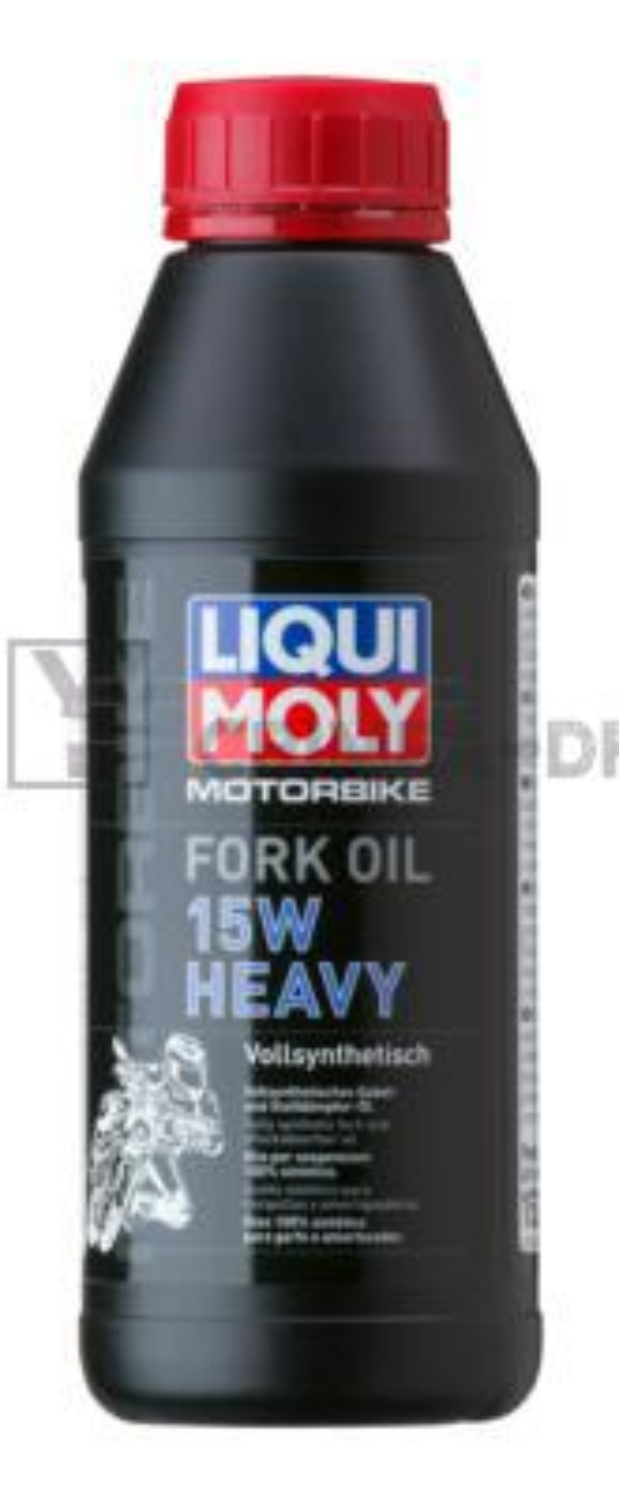 Синтетическое масло для вилок и амортизаторов Motorbike Fork Oil Heavy 15W 0,5л