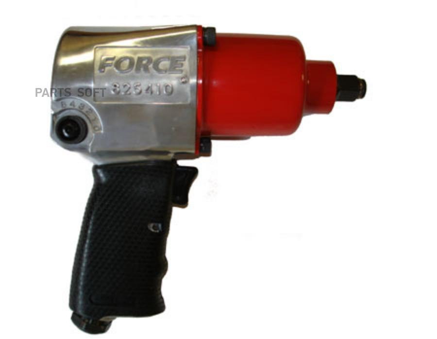 Пневмогайговёрт с набором ударных головок FORCE 825410