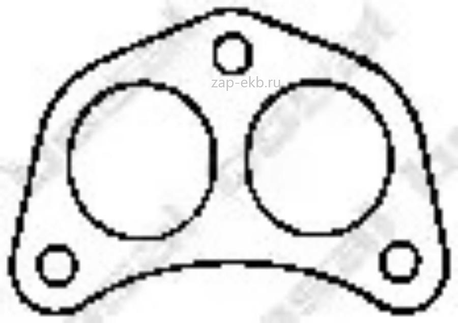Монтажное уплотнительное кольцо выхлопной системы
