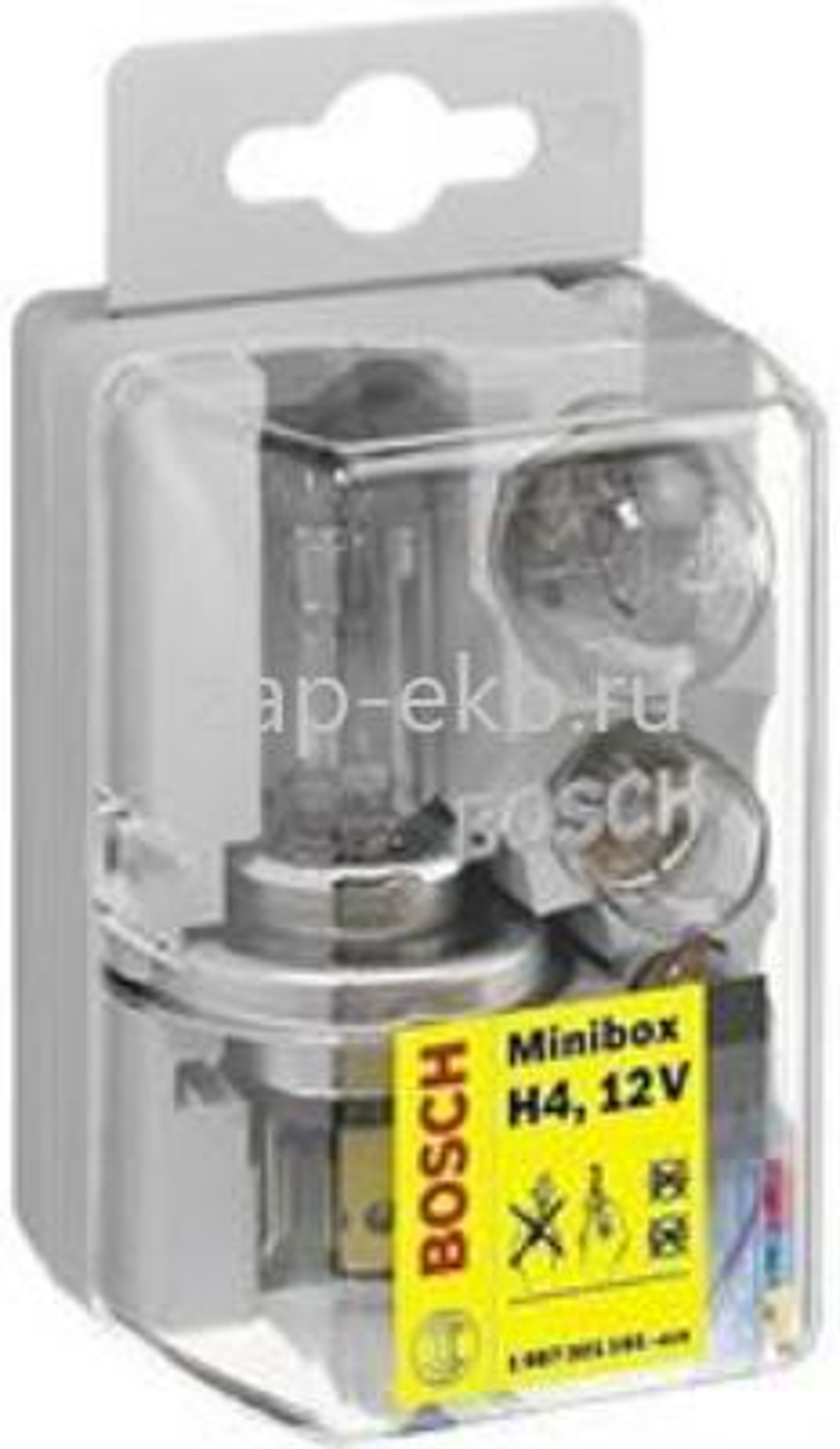 Лампа галоген Minibox H4 12В 4-60Вт