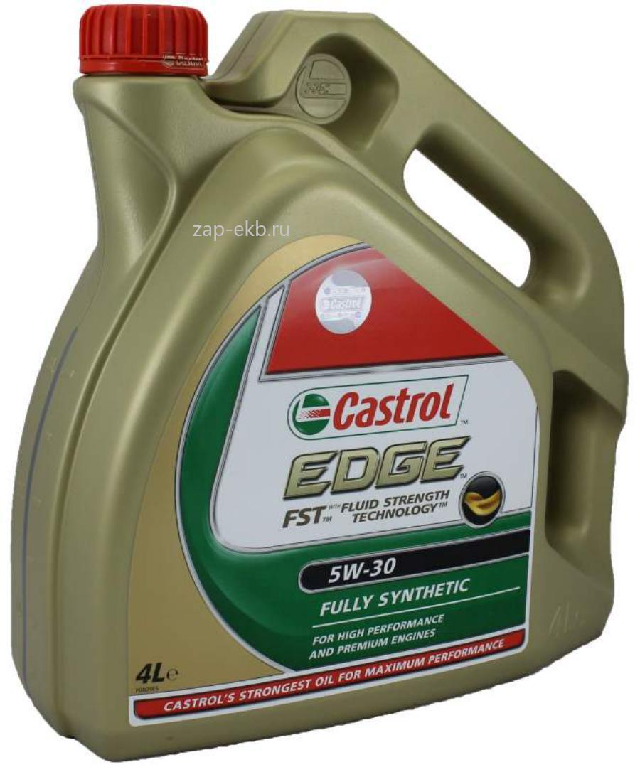 Масло моторное синтетическое EDGE FST 5W-30, 4л
