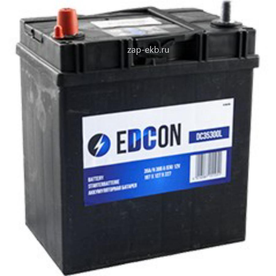 EDCON Аккумуляторная батарея 35Ah 300A 187х127х227 B00