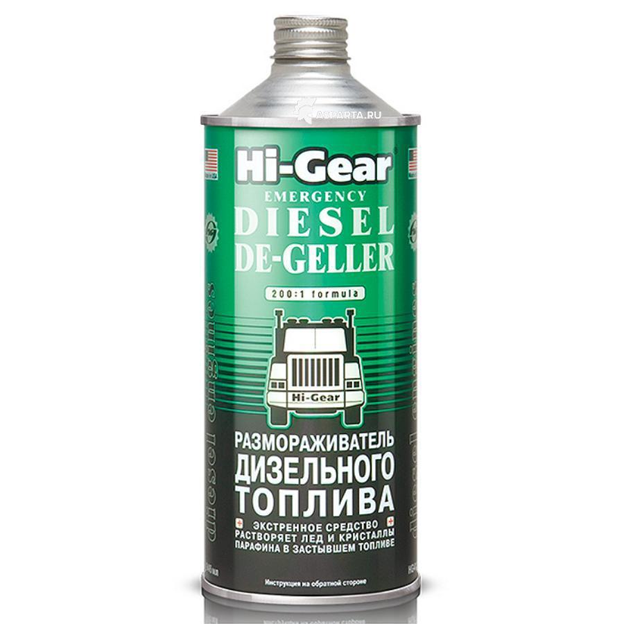Размораживатель дизельного топлива HG4114 946мл