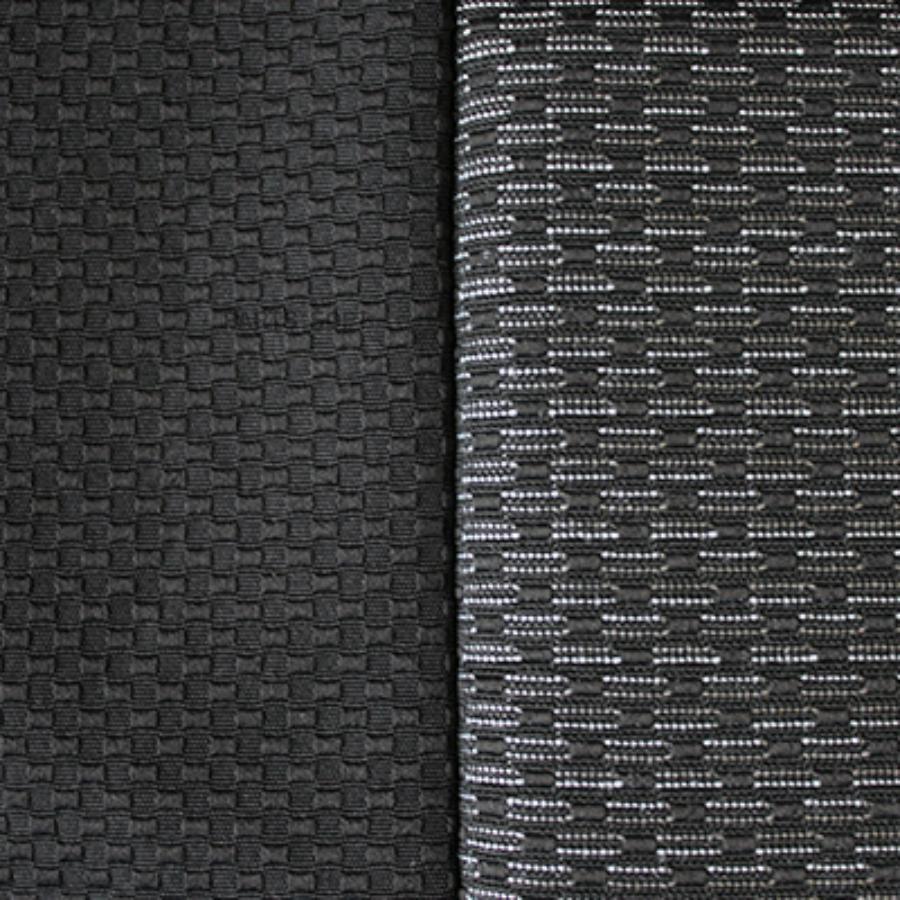 Чехлы сиденья HYUNDAI SOLARIS 2011-2017 седан Жаккард 11 предм. раздел спинка SKYWAY Темно-серый