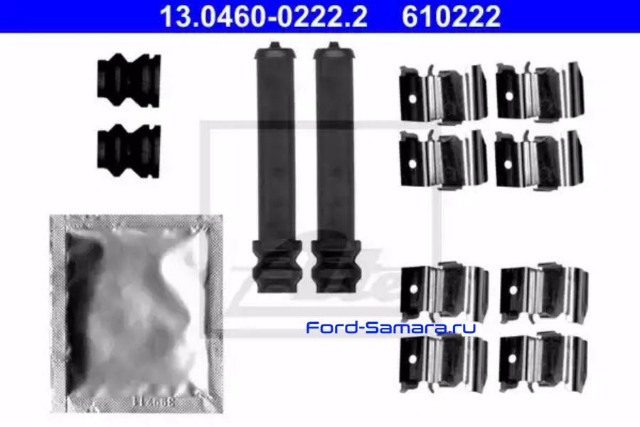 Комплектующие, колодки дискового тормоза