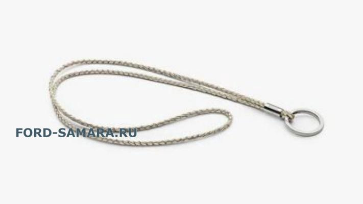Шнурок Volkswagen Golf Leather Lanyard Beige
