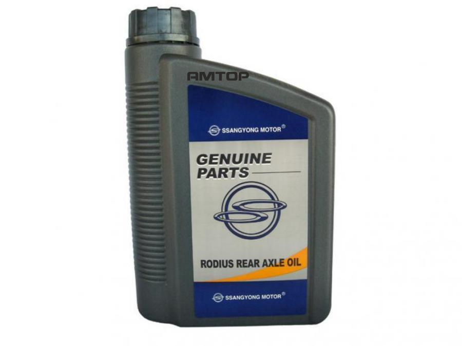 Масло трансмиссионное минеральное для мостов rodius rear axle oil 1л