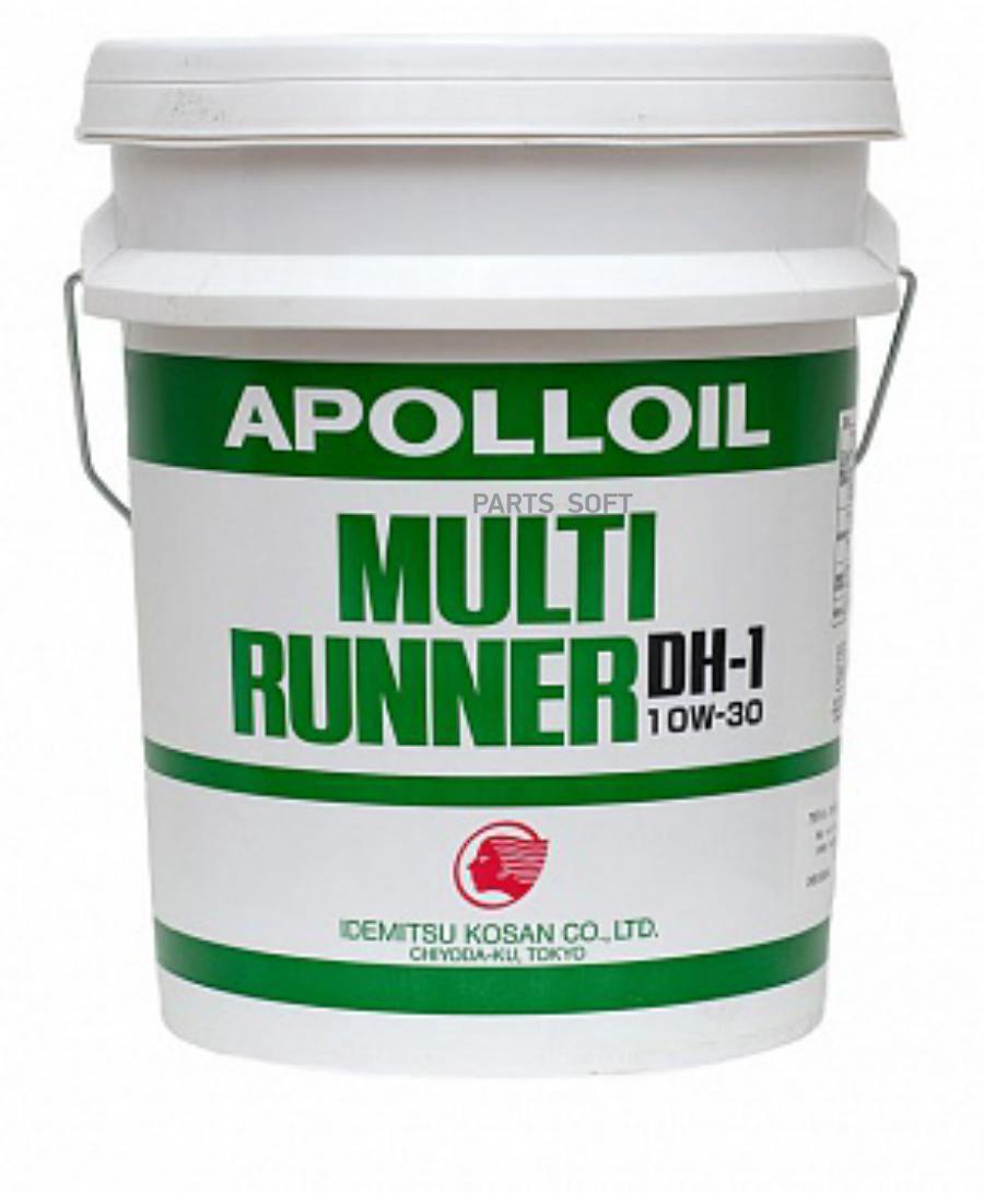 Масло моторное Apolloil Multi Runner DH-1 10W-30, 20л