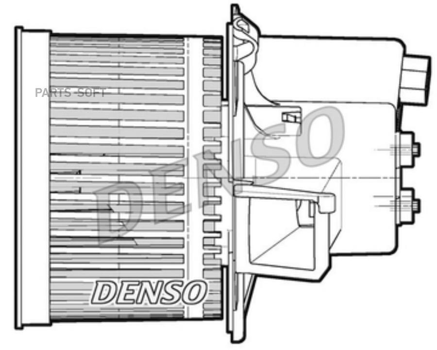 Вентилятор отопителя FIAT: PANDA 1.1/1.2/1.3D/1.4 03-