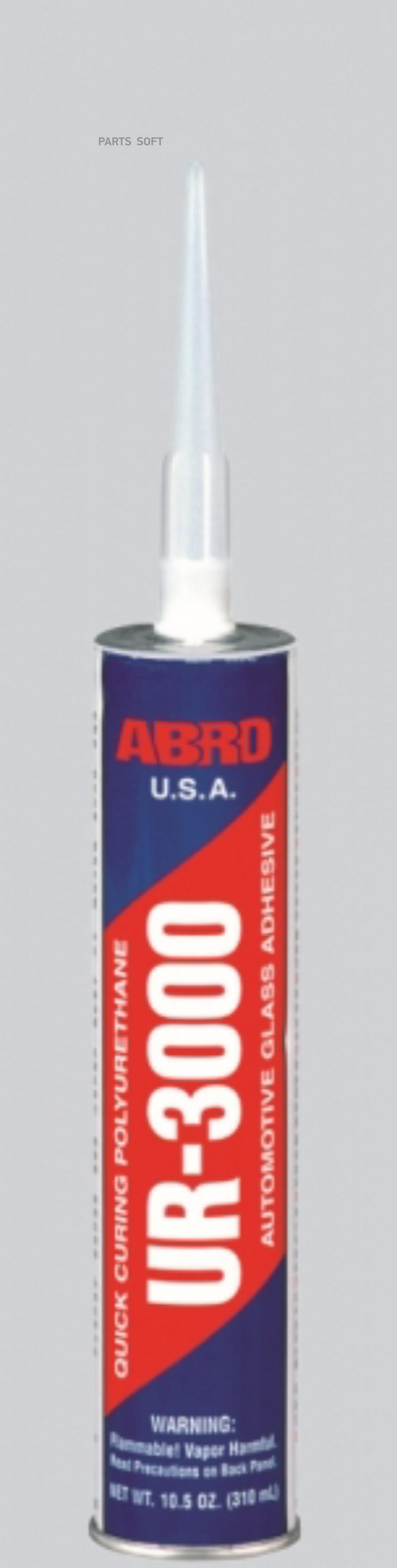 Abro клей уретановый для стекол 310 мл