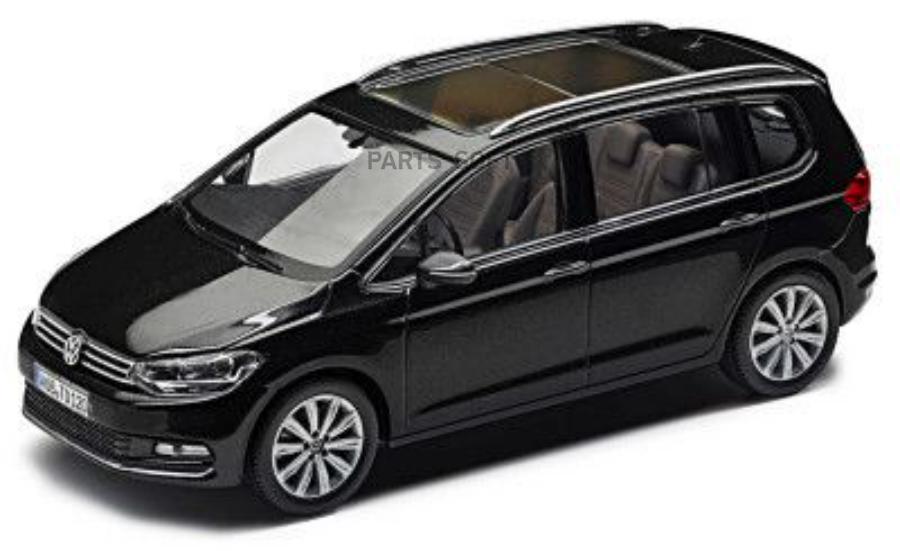 Модель автомобиля Volkswagen Touran 1:43 Deep Black Perleffect