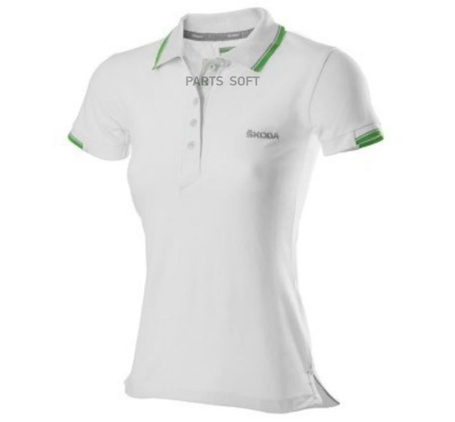 Рубашка-поло Skoda L женская White