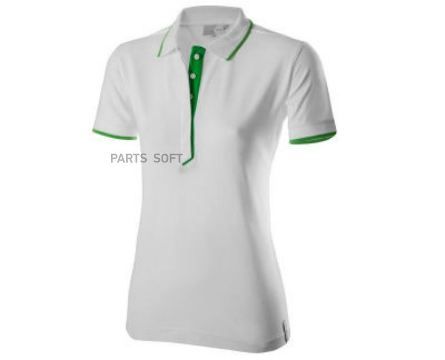 Женская рубашка-поло Skoda Polo Shirt WoMens Essential Collection White/Green