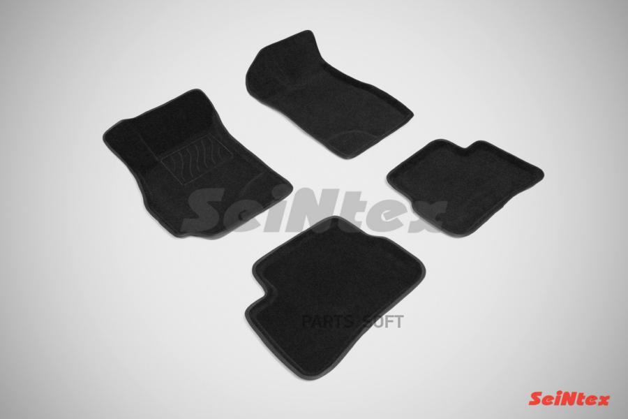 Резиновые коврики с высоким бортом для Hyundai Accent 1999-2012