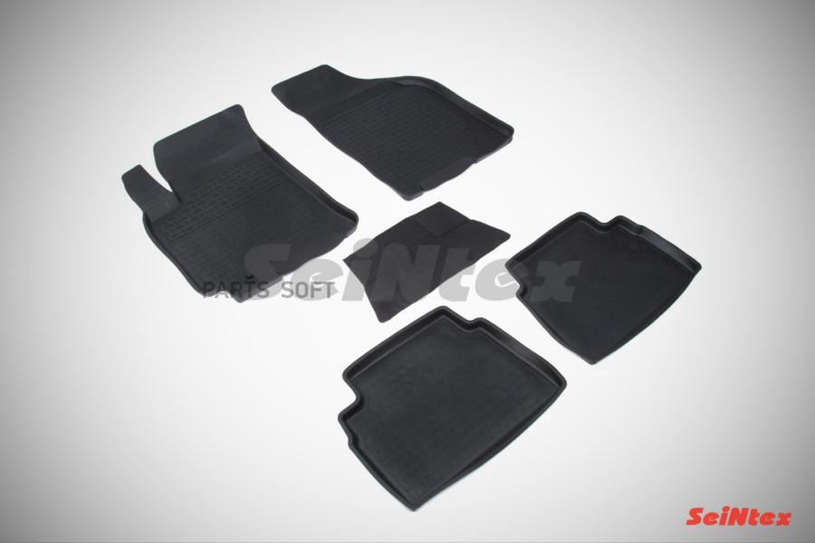 Резиновые коврики с высоким бортом для Chevrolet Lacetti 2004-2013
