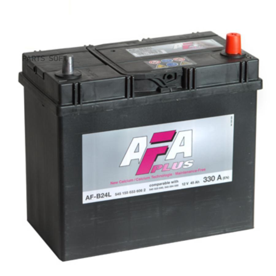 Аккумулятор AFA 45 А/ч 545155 AF ОБР выс узк кл EN 330