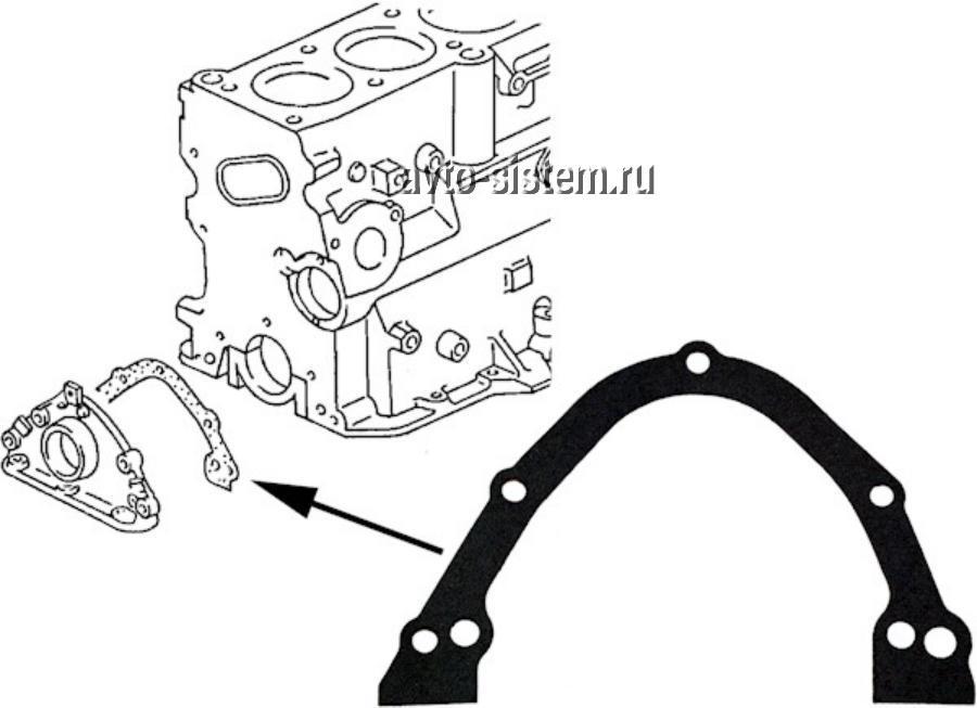 Прокладка масляного картера двигателя
