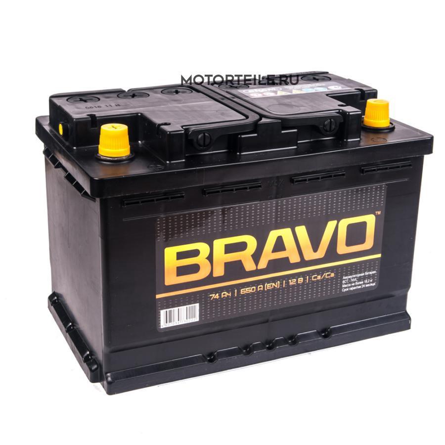 Аккумулятор АКОМ BRAVO 74 А/ч