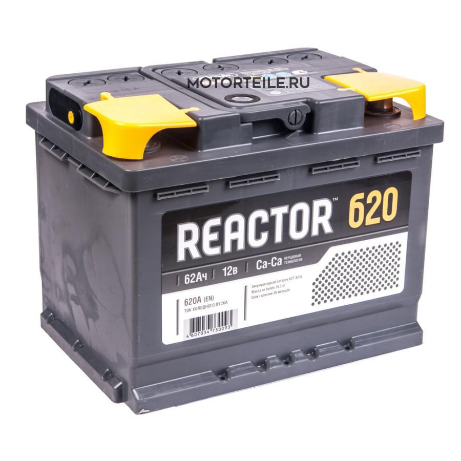 Аккумулятор АКОМ REACTOR 62 А/ч