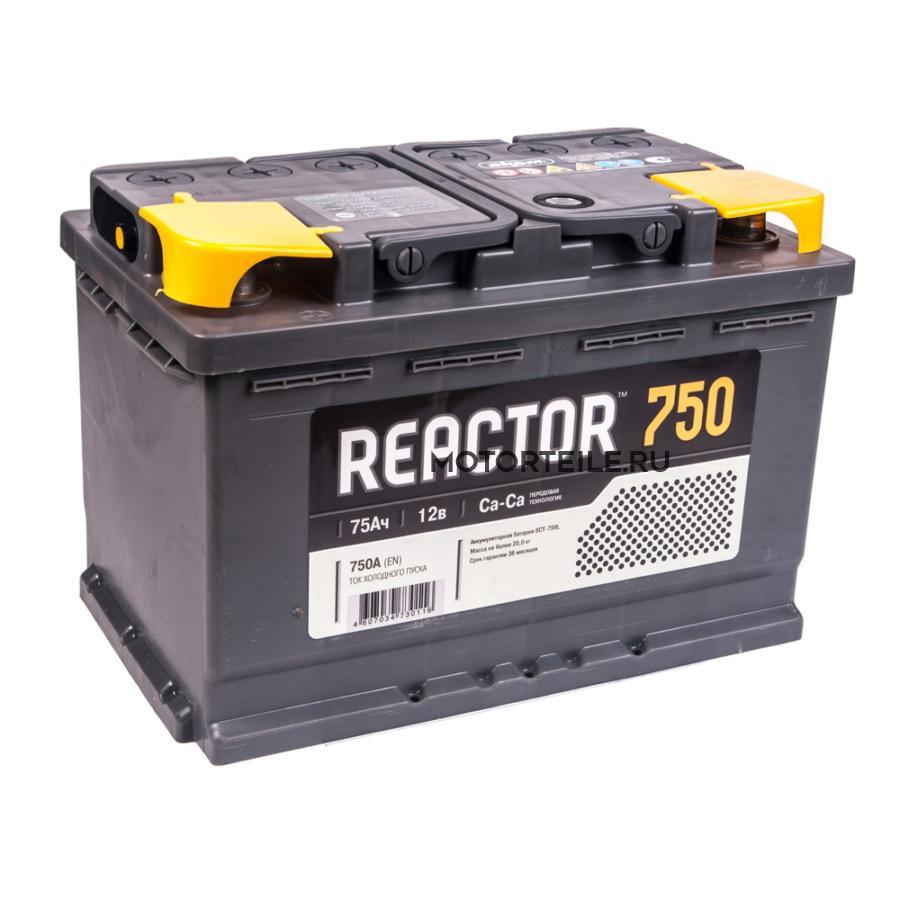 Аккумулятор АКОМ REACTOR 75 А/ч