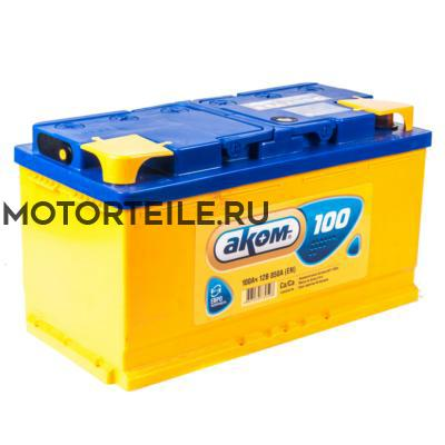 Аккумулятор АКОМ 100 А/ч обр