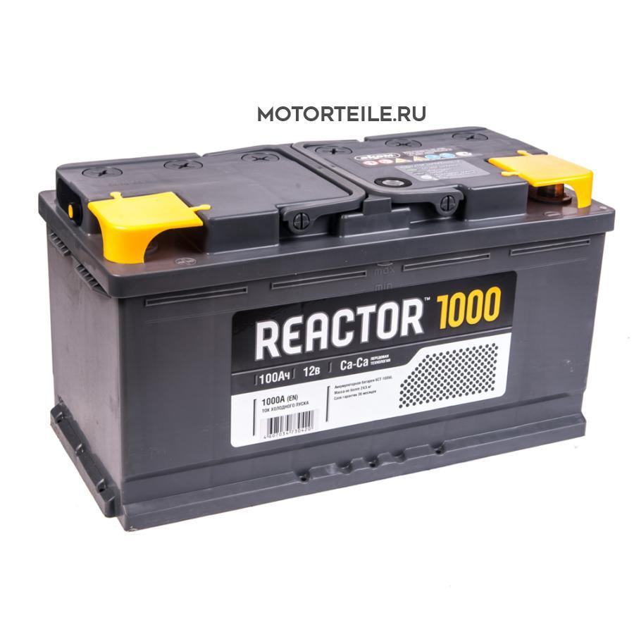 Аккумулятор АКОМ REACTOR 100 А/ч
