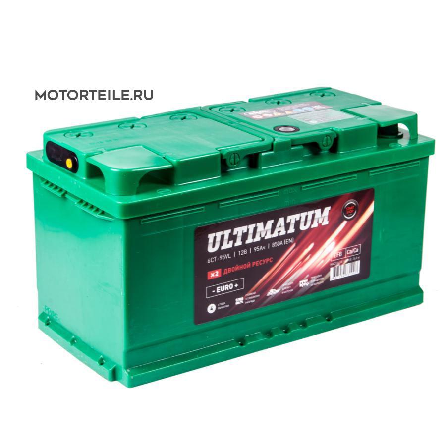 Аккумулятор АКОМ ULTIMATUM 95 А/ч обр