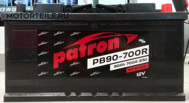 АККУМУЛЯТОР PATRON POWER 12V 90AH 700A ETN 0(R+) 3