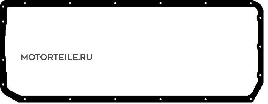 Прокладка поддона MAN D2555 | MB OM409 (51.05904.0131 | 449 014 00 22) (=775.330)