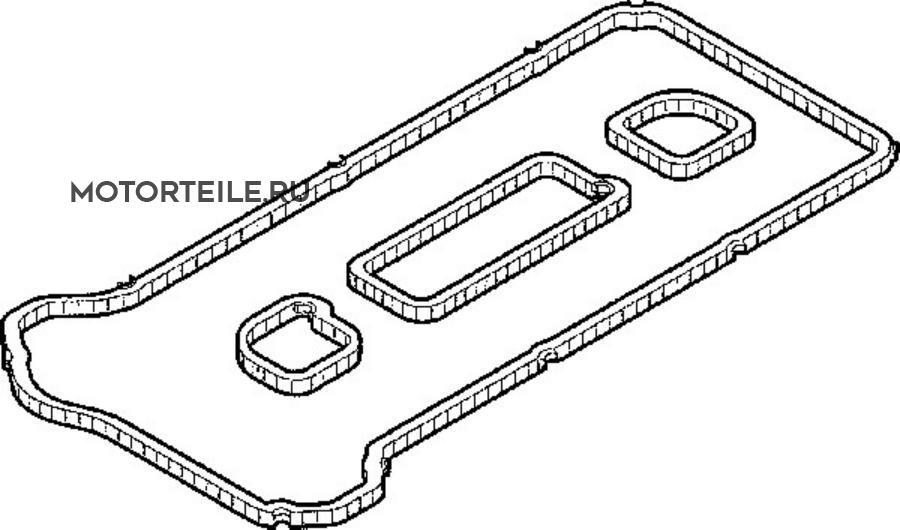 Прокладка клапанной крышки Ford | Mazda 1.8 | 2.0 | 2.3 (1 220 025) (=001.562)