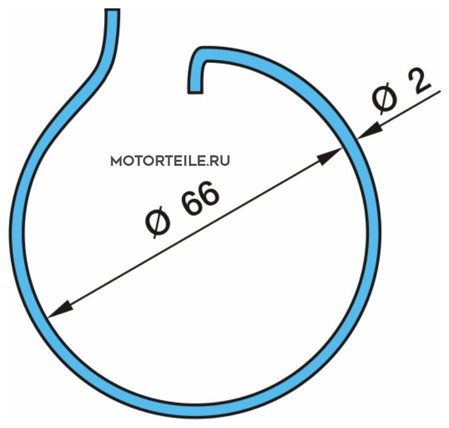Кольцо колодки опорное