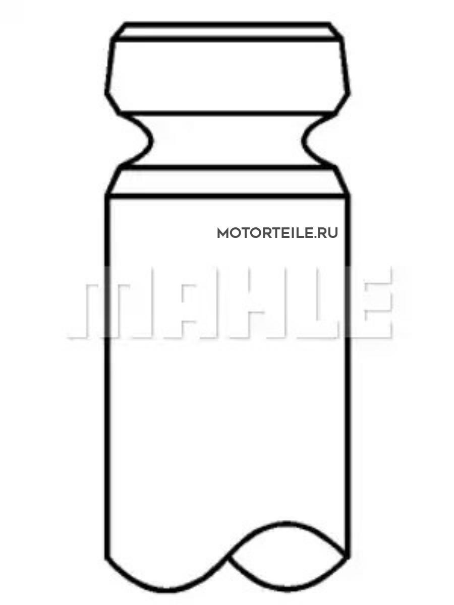 Клапан выпускной MB OM611 | OM612 | OM613 7x28.4x104.4 (611 050 01 27)