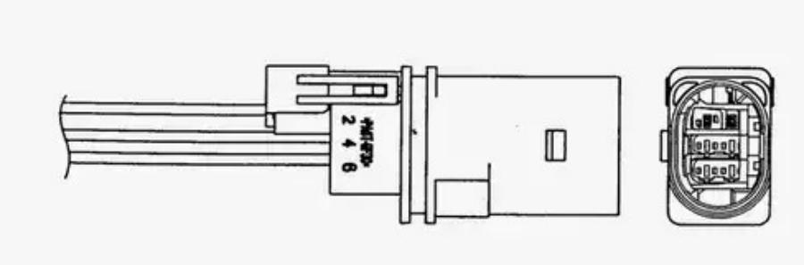 Лямбда-зонд VW PASSAT 1.6 -10