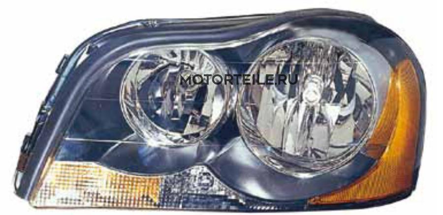 Фара L XC90 03- черн.