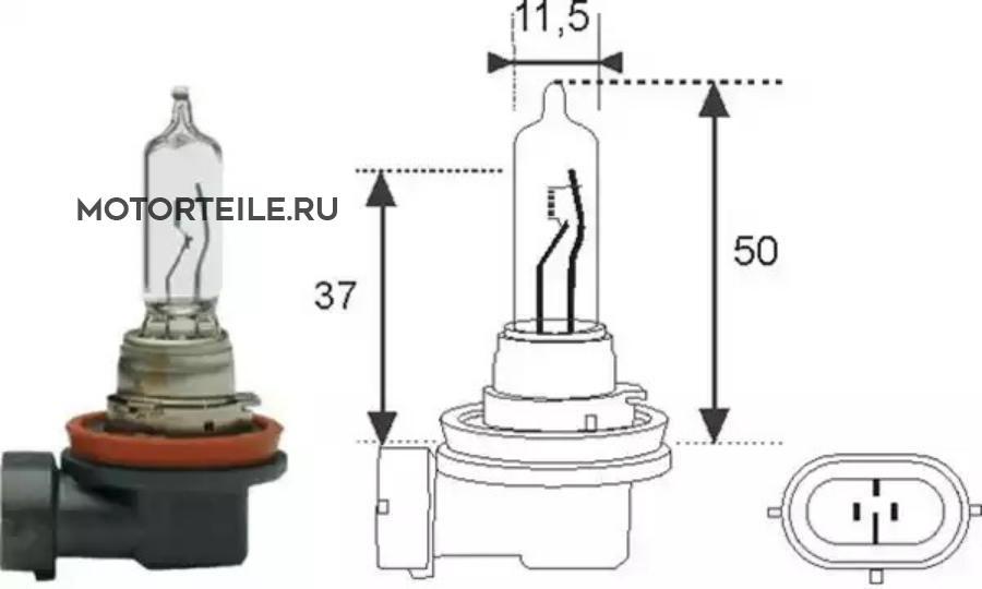 Лампа H9 12V [standart]
