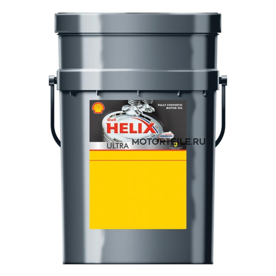 Масло моторное синтетическое Helix Ultra 5W-40, 20л