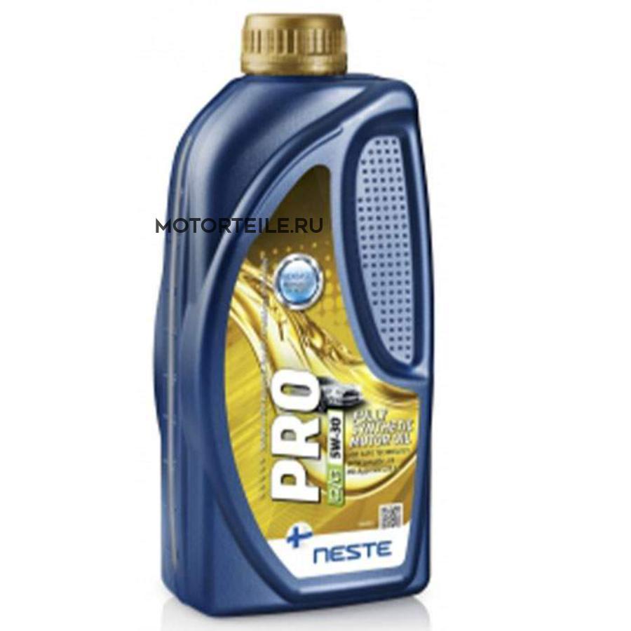 Масло моторное Neste Premium+ 5W-40 1 литр синтетическое