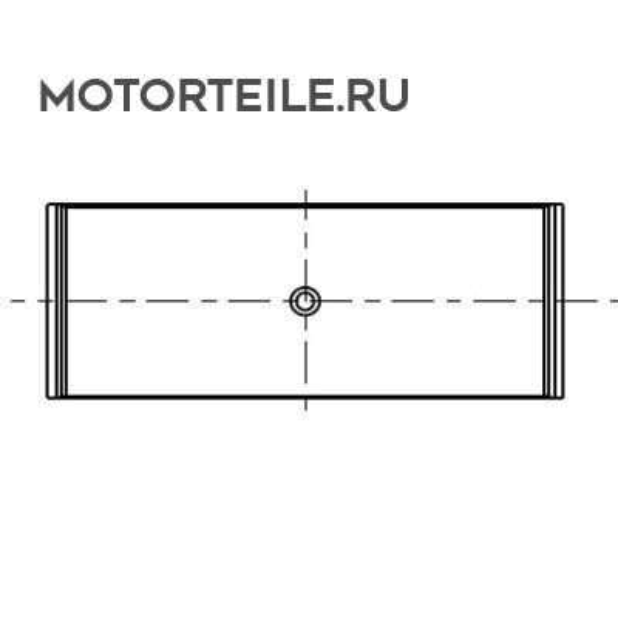 Вкладыши шатунные STD MB Compressor ширина 19.0mm (на 1 шейку)