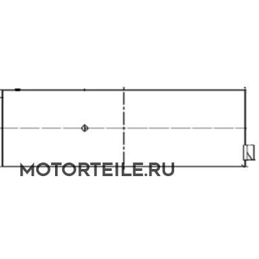 Вкладыши коренные STD MB OM904   OM906 (904 030 00 40   926 030 07 40) на 1 шейку