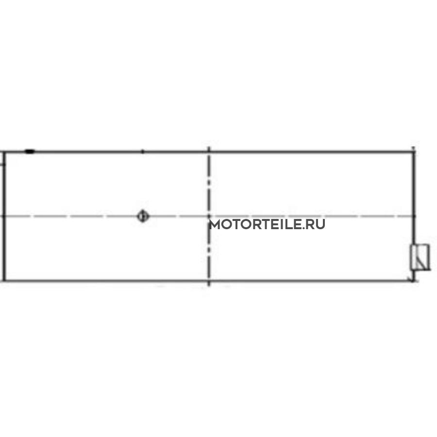 Вкладыши шатунные STD SPUTTER 31mm MB OM401 | MAN (на 1 шейку)