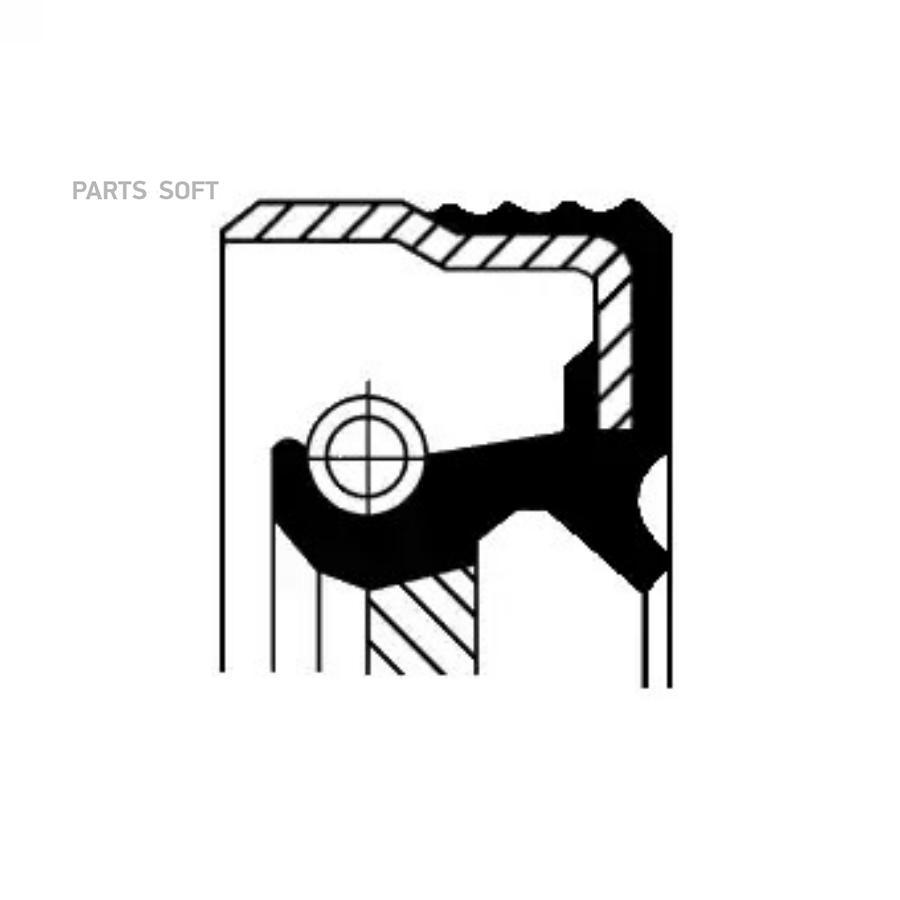 Уплотняющее кольцо, коленчатый вал; Уплотняющее кольцо, ступенчатая коробка передач