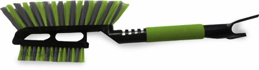 Щётка-скребок AVS WB-6328 (52 cм), мягкая ручка, распушенная щетина. 2 поверхности