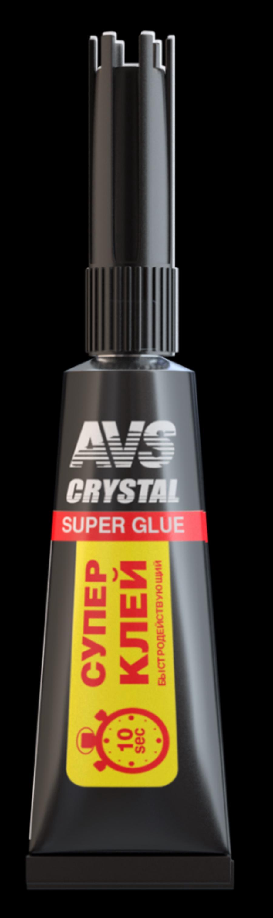 Супер клей (быстродействующий) 3 г AVS AVK-170