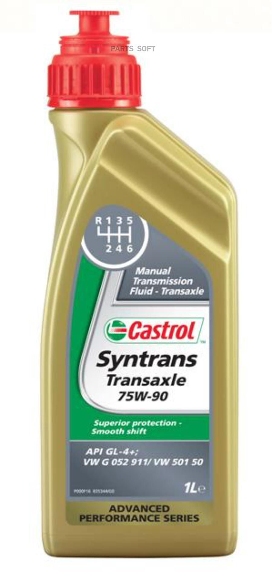 Масло трансмиссионное синтетическое Syntrans Transaxle 75W-90, 1л