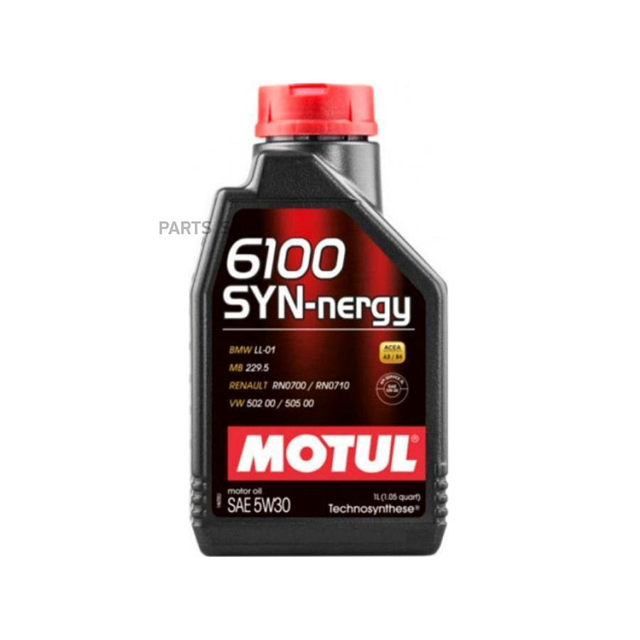Масло моторное полусинтетическое 6100 Synergie+ 5W-30, 1л