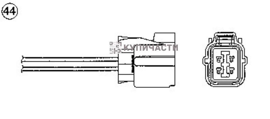 Датчик кислородный универсальный R OZA508H4