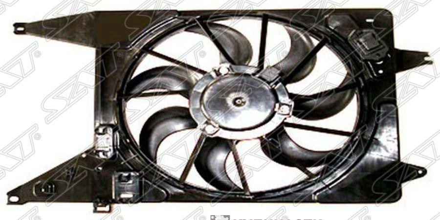 Диффузор радиатора RENAULT LOGAN