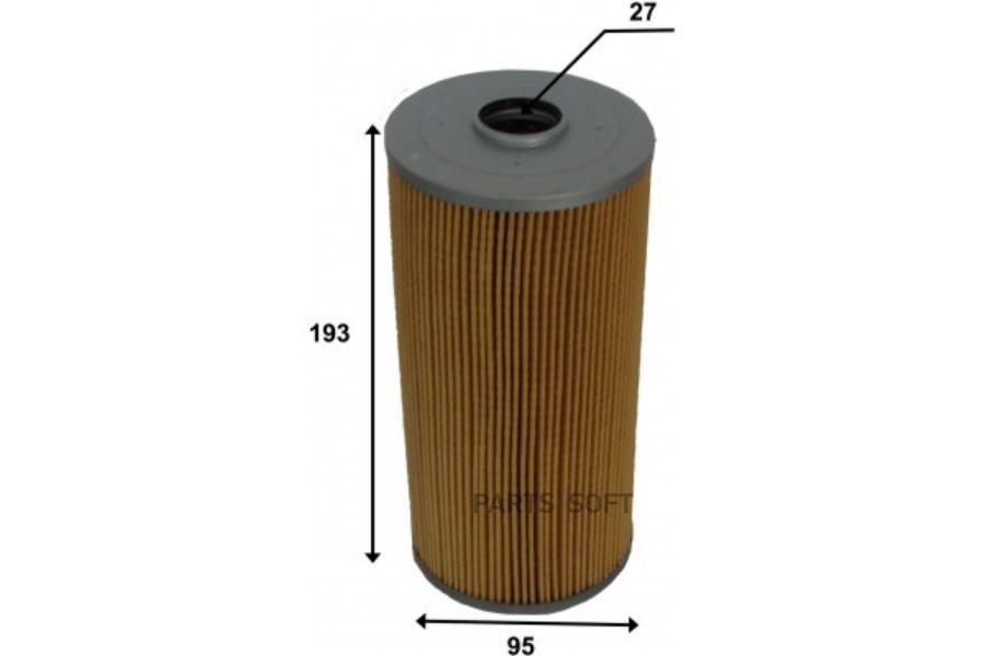Фильтр топливный картридж KUTE0031 KUJIWA 23304EV140 HINO