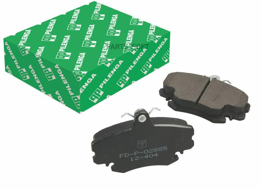 Колодки тормозные дисковые без ABS перед, прав, лев